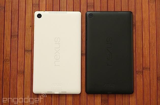 This is the white Nexus 7 (hands-on)