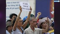 Vietnam Clamps Down On Anti-China Protests