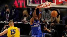 Kyrie Irving, James Harden make presence felt at NBA All-Star Game
