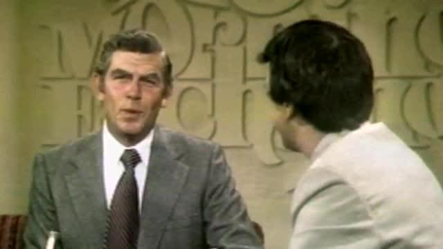 Andy Griffith on the Morning Exchange