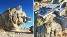 Would you want to live in this house inside a rock?