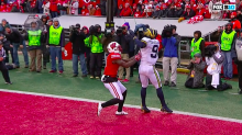 Possible Michigan touchdown catch taken off the board vs. Wisconsin (Video)