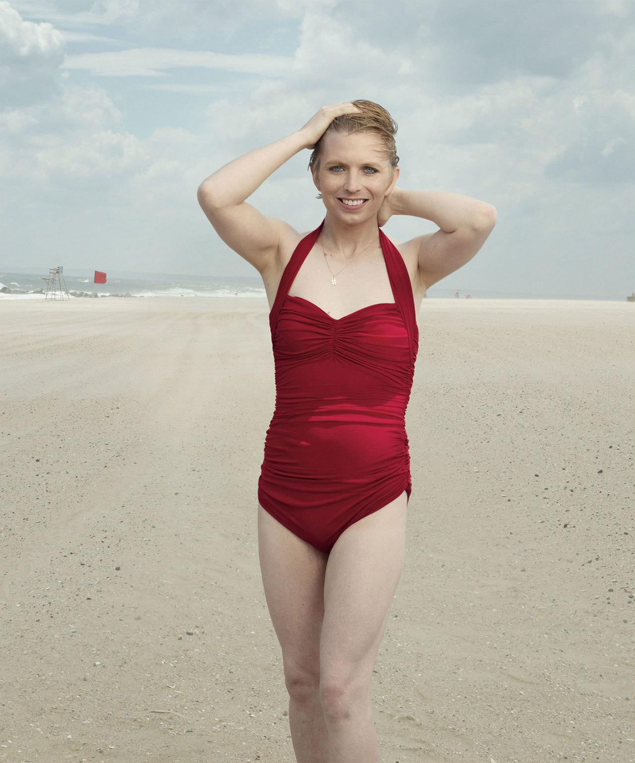 Chelsea Manning poses in swimsuit for Vogue: 'This is what freedom looks like'