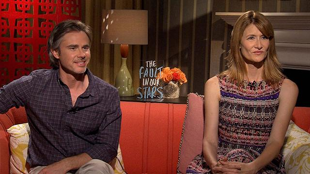 Sam Trammell And Laura Dern On 'The Fault In Our Stars'