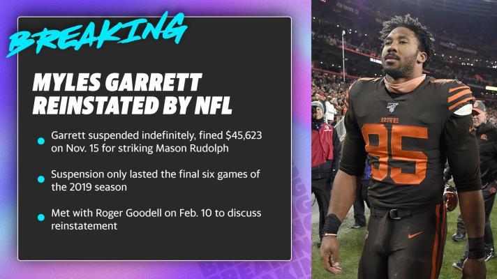 Was Myles Garrett's suspension long enough?