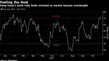 Hong Kong's $530 Billion Stock Rally Buckles as Protests Worsen