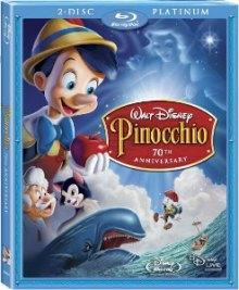 Pinocchio's Blu-ray black bars  filled in with Disney View