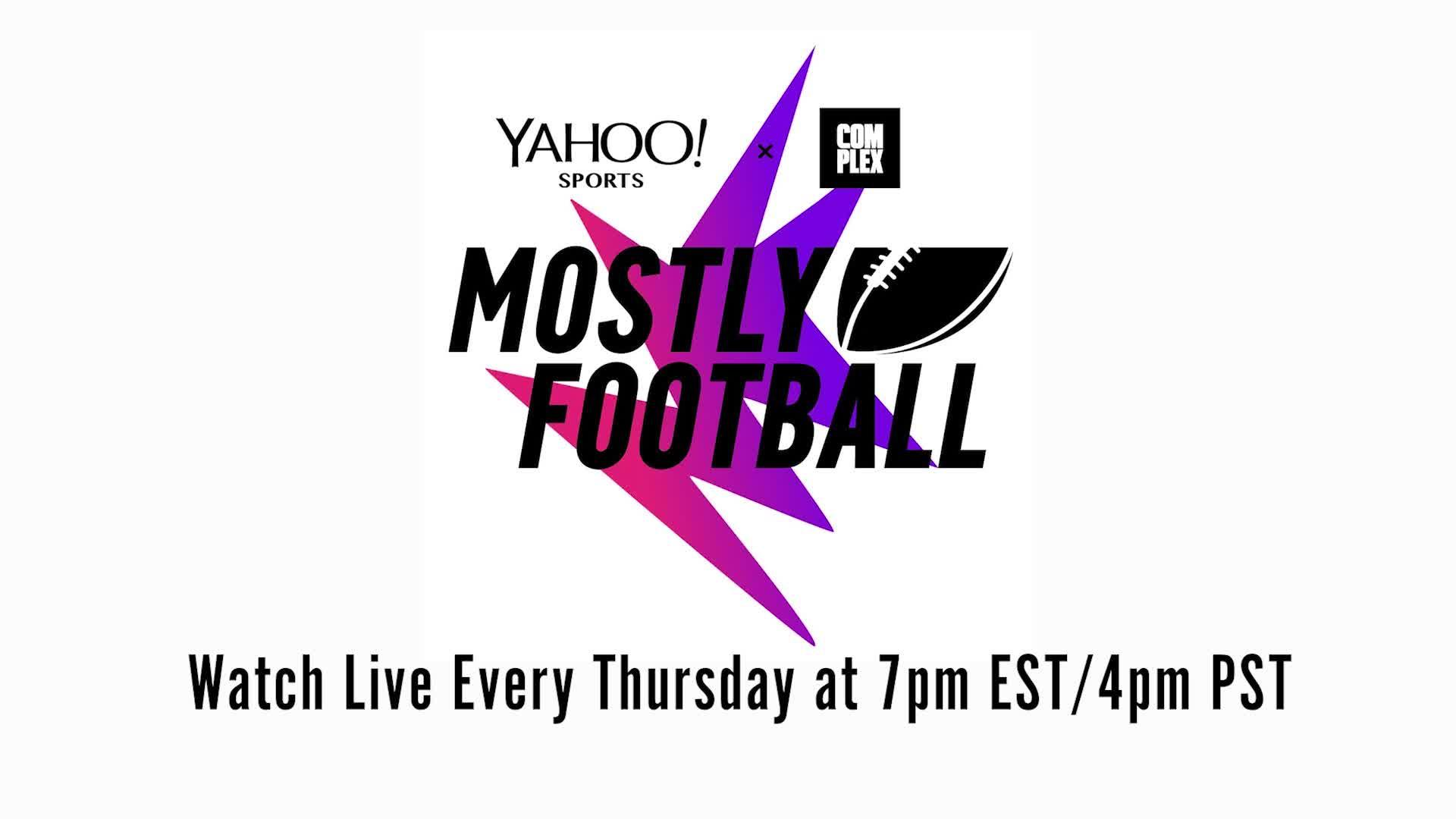 file Watch Week 10 of Mostly Football with Martellus Bennett on Yahoo Sports