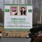 Saudi crown prince arrives in Pakistan for regional visit