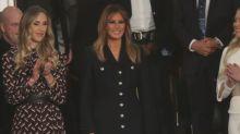 Michael, é você? Melania Trump aparece usando apenas uma luva e vira piada