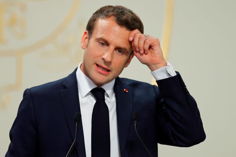 Calendrier Macron 2019.Macron Assume Le Calendrier Serre Sur Notre Dame