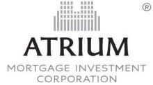 Atrium Mortgage Investment Corporation Completes $34.5 Million Public Offering of Common Shares