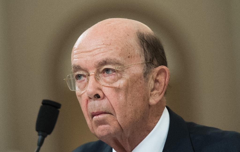 In a statement, Commerce Secretary Wilbur Ross said last year he began selling his stake in Navigator Holdings -- a shipping firm whose owners include Russian President Vladimir Putin's son-in-law -- but only learnt of the shares in question later (AFP Photo/SAUL LOEB)