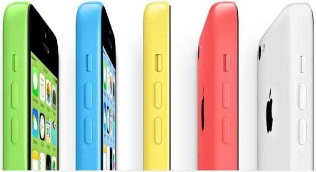 iPhone 5c now just $45 with contract at both Walmart and Radio Shack