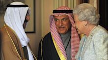 The Queen meets the late Emir of Kuwait