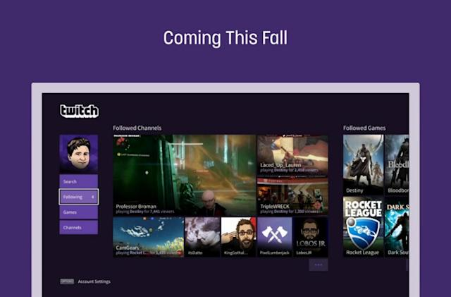 PlayStation is finally getting a dedicated Twitch app