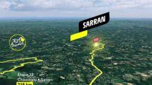 Tour de France - Tour de France 2020: le profil de la 12e étape en vidéo (Chauvigny-Sarran, 218km)
