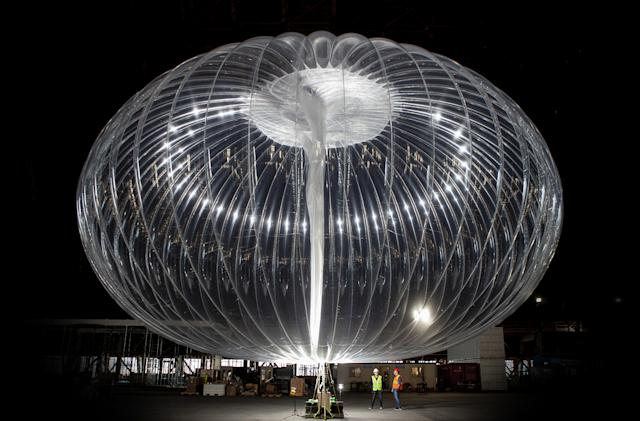 Alphabet's balloon-powered Loon internet comes to Mozambique