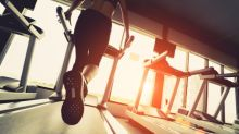 Hilarious video shows hapless man falling off a treadmill