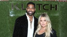 Khloe Kardashian and Tristan Thompson Can't Stop Cradling Her Baby Bump During Date Night: Pics!