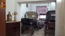 Catania, anche carrozze e calessi tra i beni sequestrati ai clan