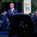 Dueling Trump, Biden events in battleground states sets tone for upcoming debates