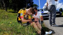 Kruijswijk out of Jumbo-Visma Tour de France team with fractured shoulder