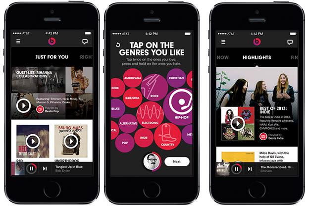 Beats Music is launching January 21st -- here's a sneak peek