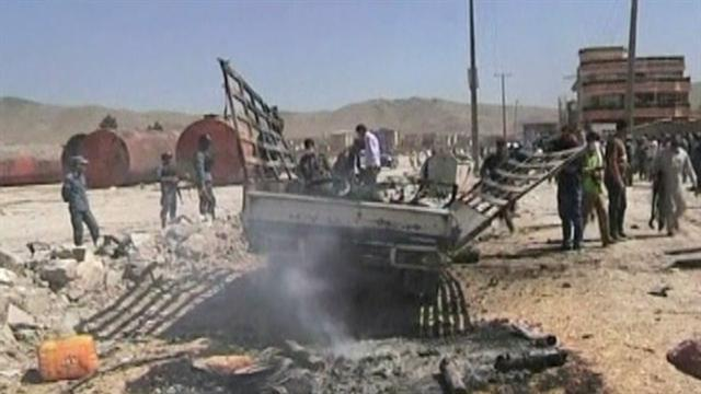 Taliban forces attack Afghanistan airport