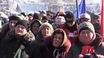 Demonstration in Kiev Against Mistreatment of Protesters