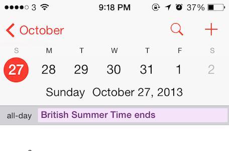 iOS daylight savings time bug strikes again