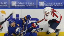 Vanecek makes 30 saves in NHL debut, Capitals sweep Sabres