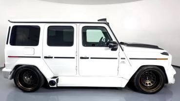 就是要「不一樣」才吸睛!Mercedes AMG G63低趴「Low Stance Style」