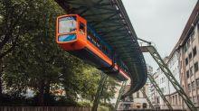 El metro colgante de Alemania y otras maravillas de la ingeniería