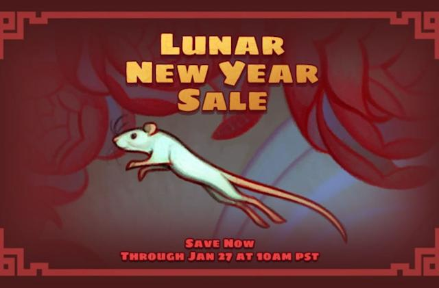 Steam's Lunar New Year sale begins with deals on GTA, Witcher and more