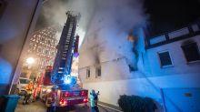 Mann wirft Brandsätze in Marbach und verletzt acht Menschen