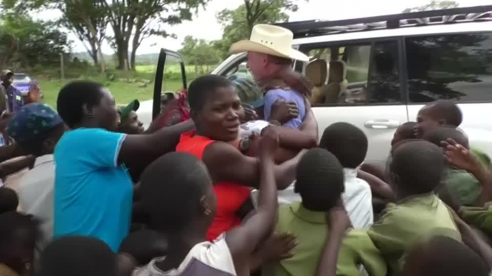 Tears Of Joy As White Zimbabwean Farmer Returns To Seized