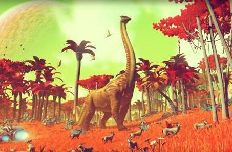 No Man's Sky: Name your own dinosaur, get eaten by it