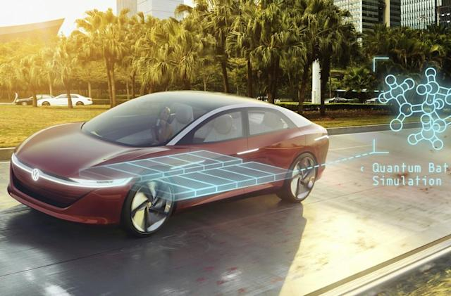 Volkswagen using quantum computers to build better EV batteries