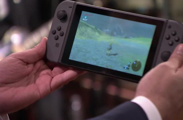 Nintendo Switch makes its live TV debut on 'The Tonight Show'