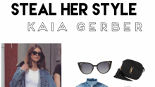 "Steal her style: Der ""DIY"" Denim-Look von Kaia Gerber"