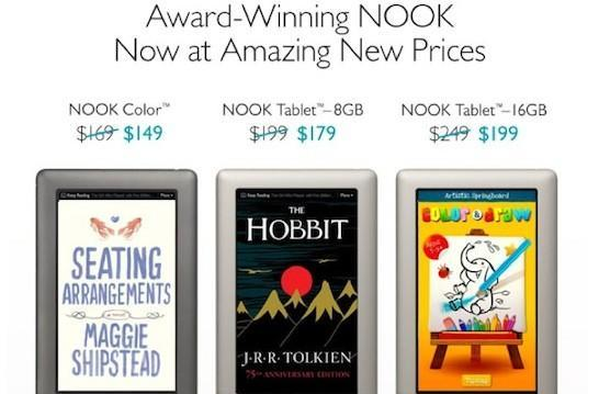 Barnes & Noble cuts prices across its Nook lineup, vies for your budget tablet affection
