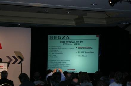 Toshiba updates Regza LCD lineup: 120hz, Deep Color and xvYCC