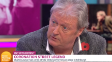 'Coronation Street's' Charles Lawson: 'On-stage stroke was a wake-up call'