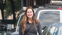 Brooke Shields goes makeup-free, shows off radiant skin while out in New York City