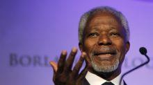 Fallece el exsecretario general de la ONU Kofi Annan