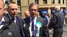 Wave of milkshake-tossing protests hits Britain