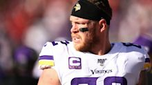 Vikings release longtime tight end Kyle Rudolph