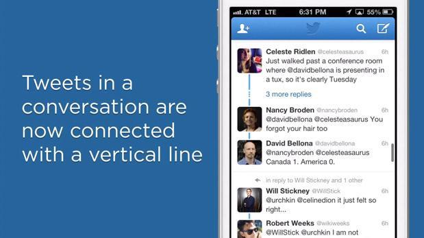Twitter now displays conversations in chronological order (video)
