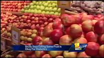 New study encourages fruits for diabetics